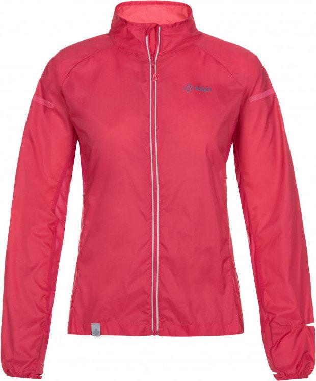 Růžová dámská cyklistická bunda Kilpi