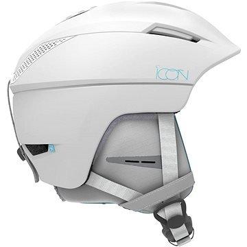 Bílá dámská lyžařská helma Salomon