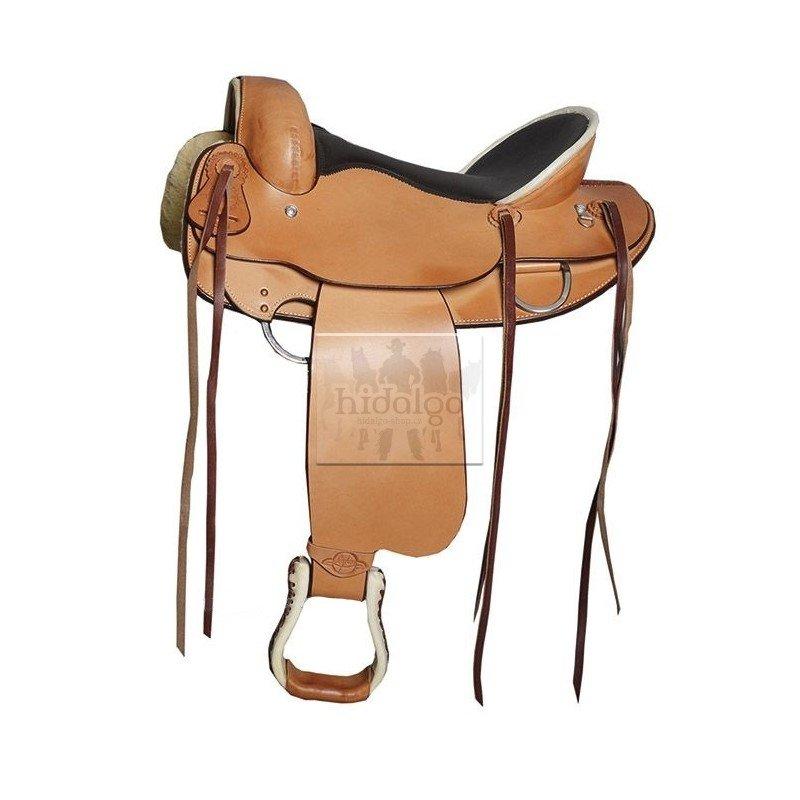 Sedlo na koně - Westernové sedlo Longhorn Endurance