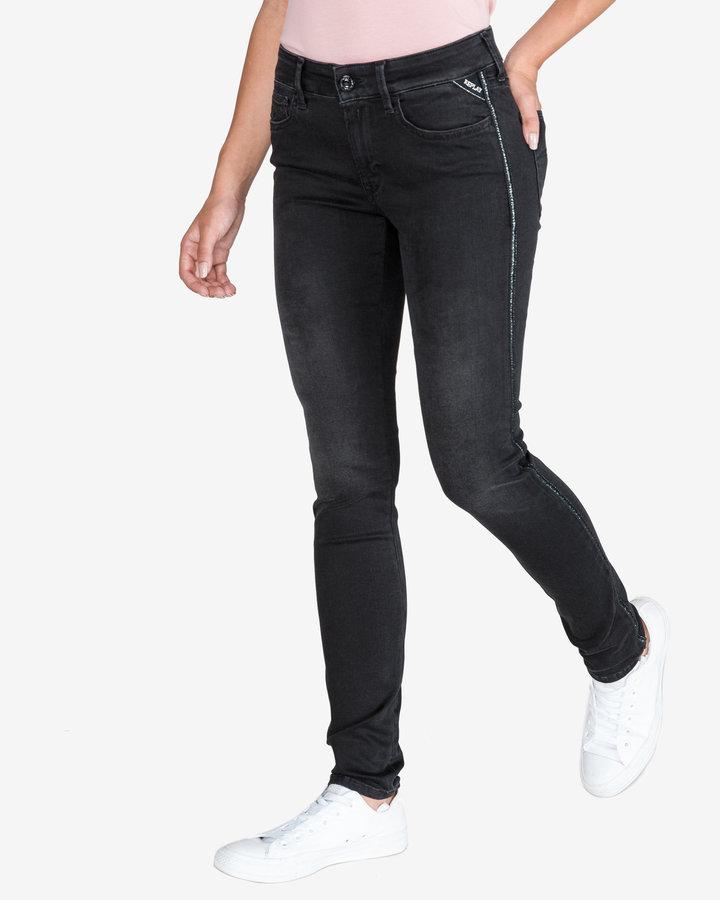 Černé dámské džíny Replay - velikost 26