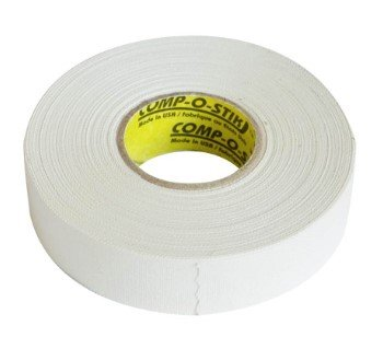 Bílá hokejová páska na hůl Compostik - délka 25 m