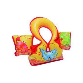 Různobarevná dětská nafukovací plavecká vesta INTEX - velikost 3-6 let