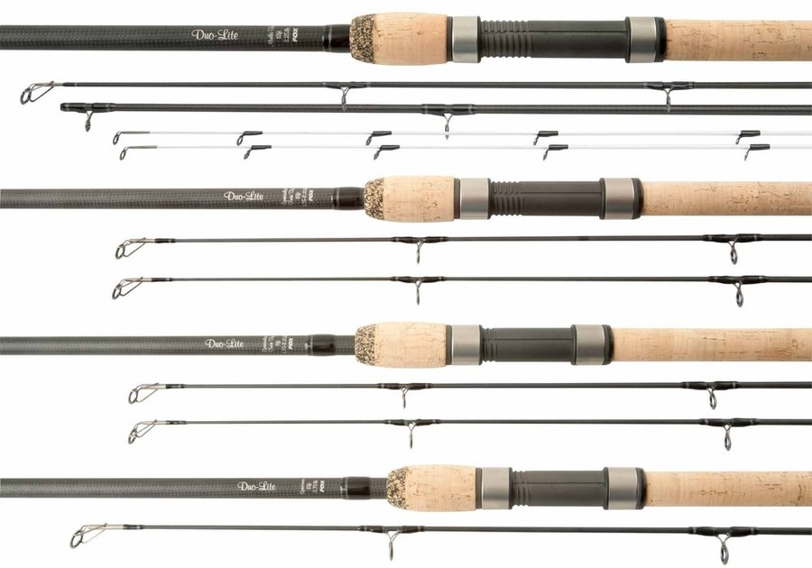 Kaprový prut - Fox Prut Duo-Lite Rod 12ft 1.75-2.25lb Twin Tip