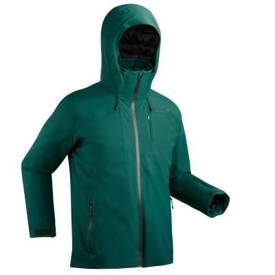 Zelená pánská lyžařská bunda Wed'ze