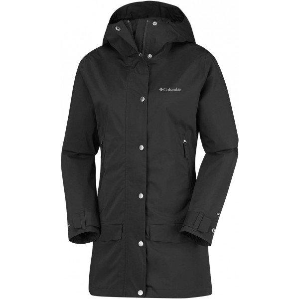 Černý dámský kabát Columbia - velikost S