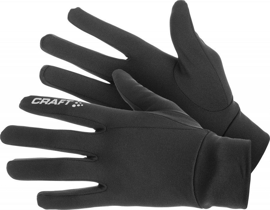 Černé dámské zimní rukavice Craft