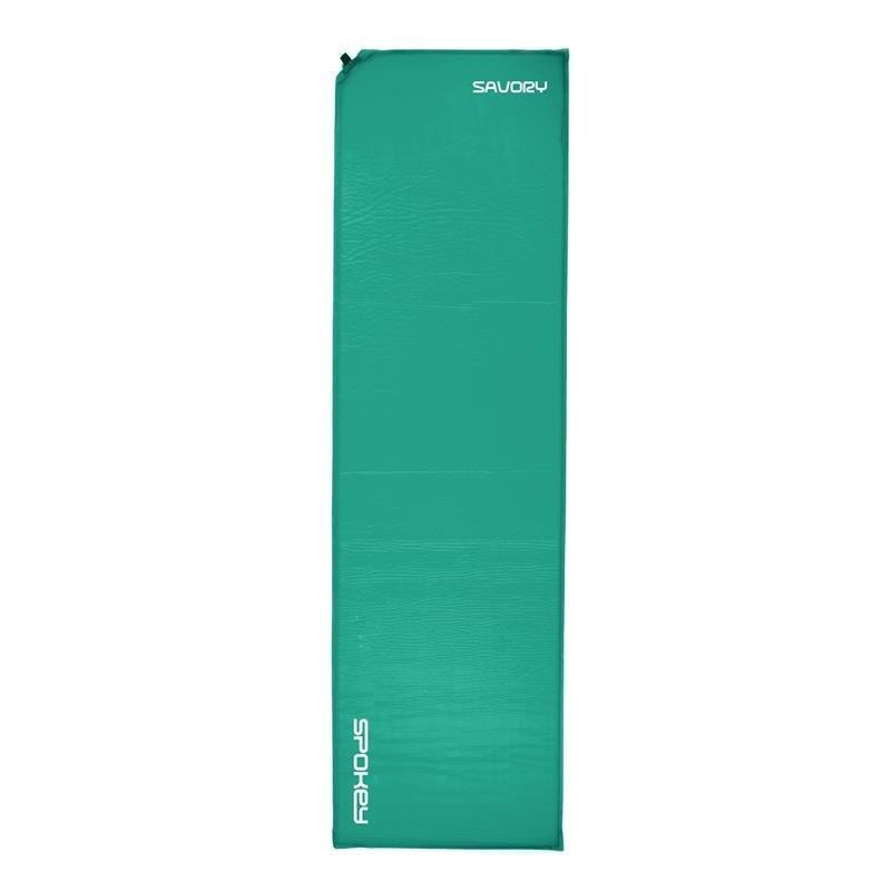 Zelená samonafukovací karimatka Spokey - tloušťka 2,5 cm