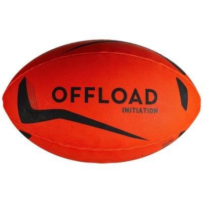 Oranžový míč na ragby R100, Offload - velikost 4