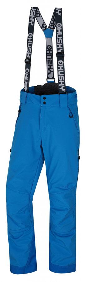 Modré pánské lyžařské kalhoty Husky - velikost XXL