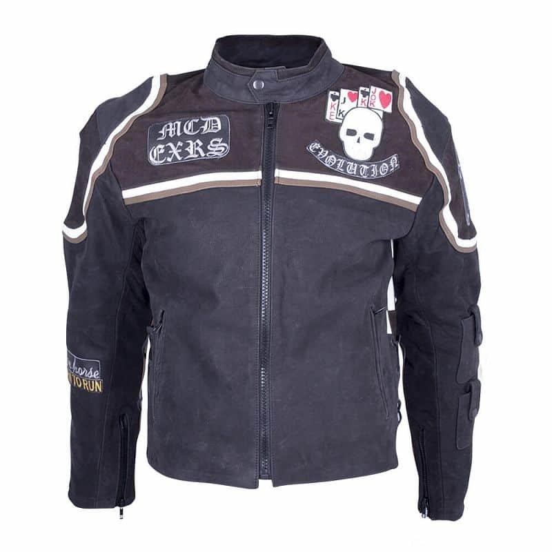 Černá motorkářská bunda Micky Rourke, Sodager
