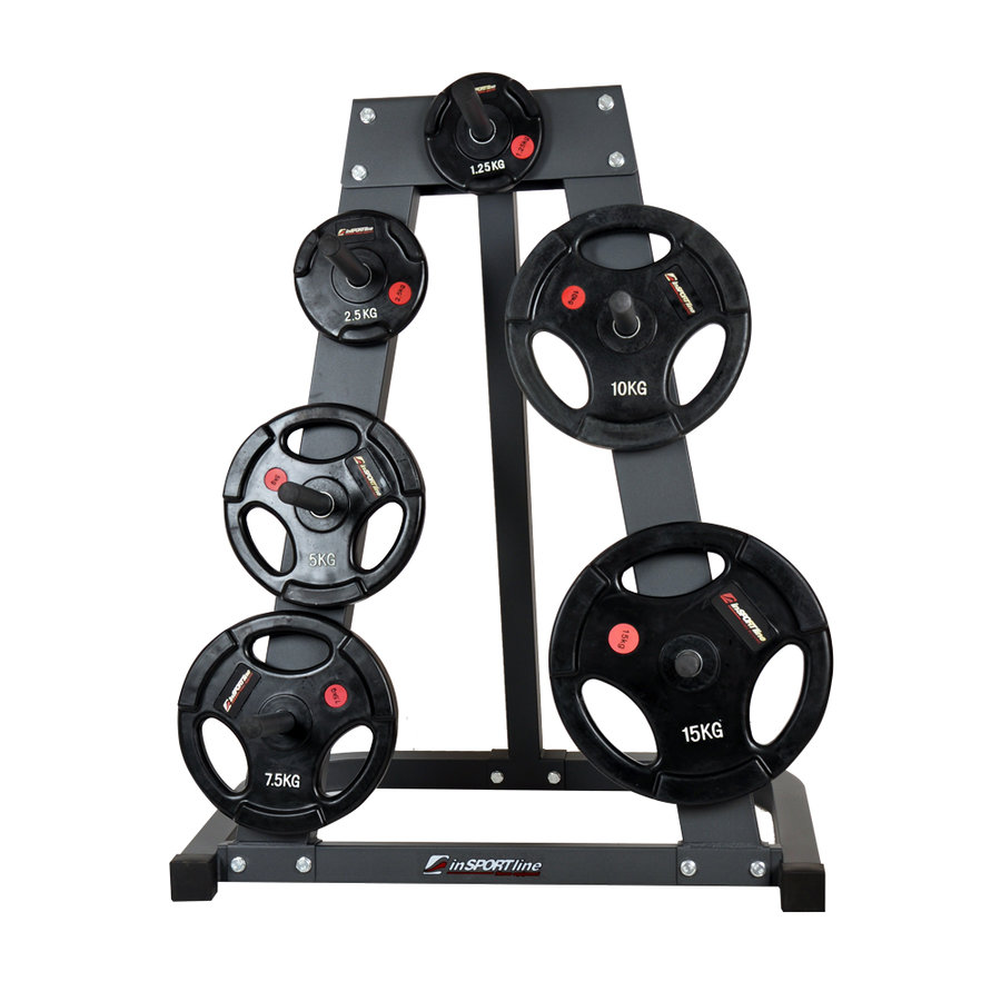Stojan na závaží PR3010, inSPORTline - nosnost 300 kg