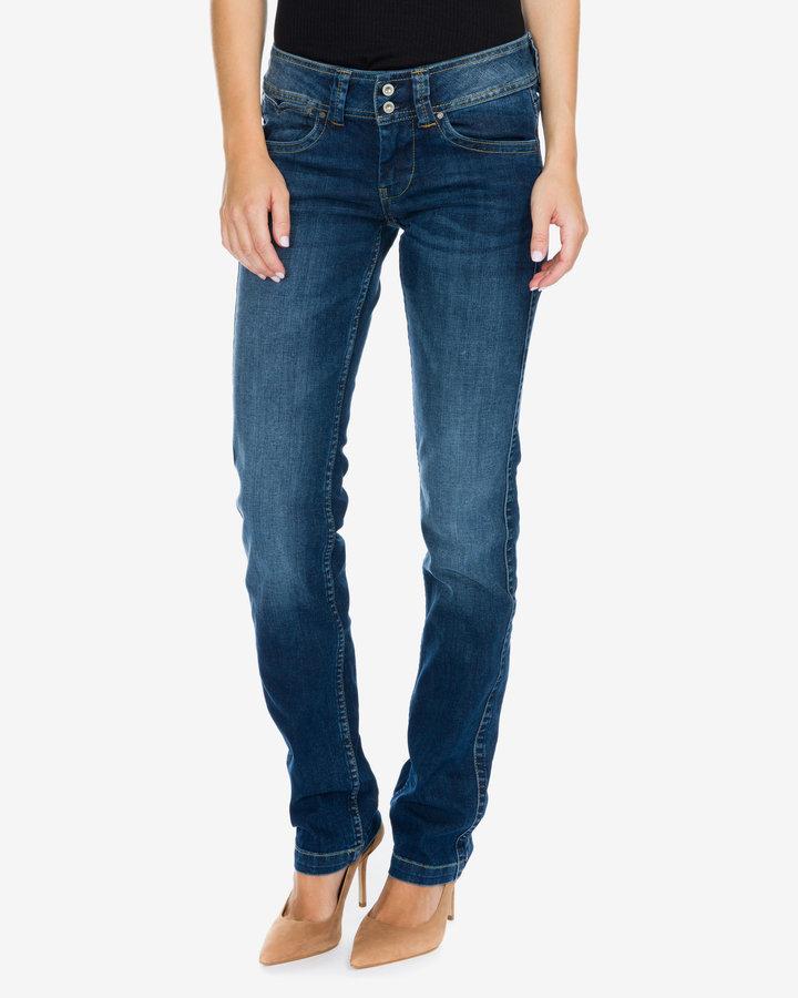Modré dámské džíny Pepe Jeans - velikost 24