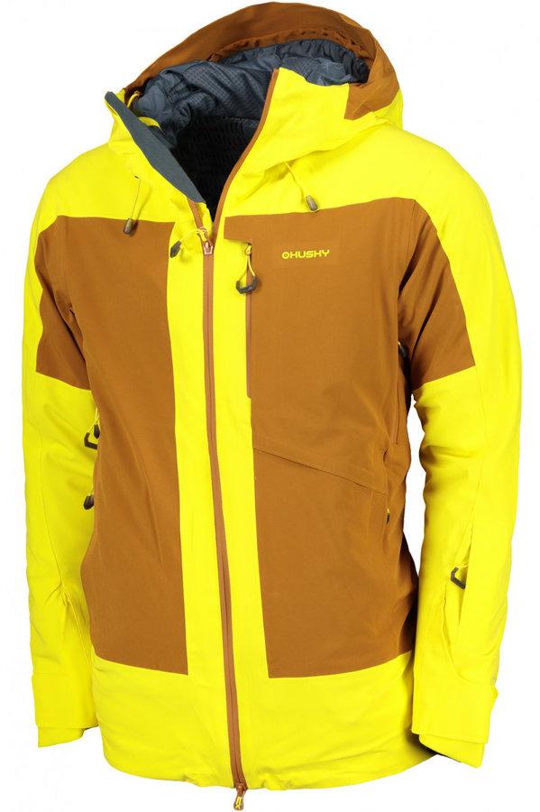 Modrá pánská lyžařská bunda Husky - velikost XXL