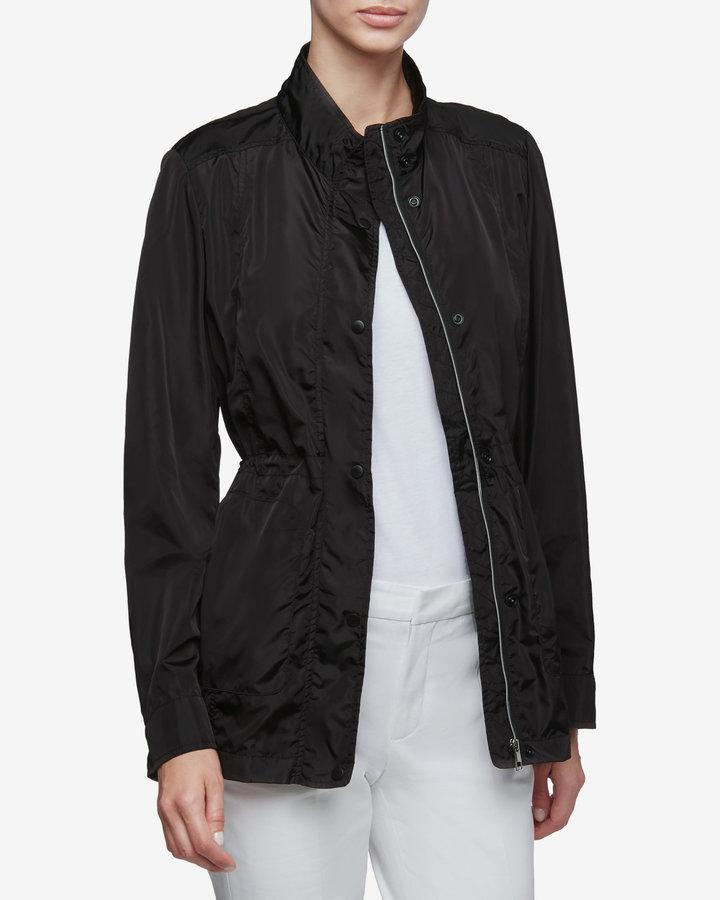 Černá dámská bunda - větrovka Geox - velikost L