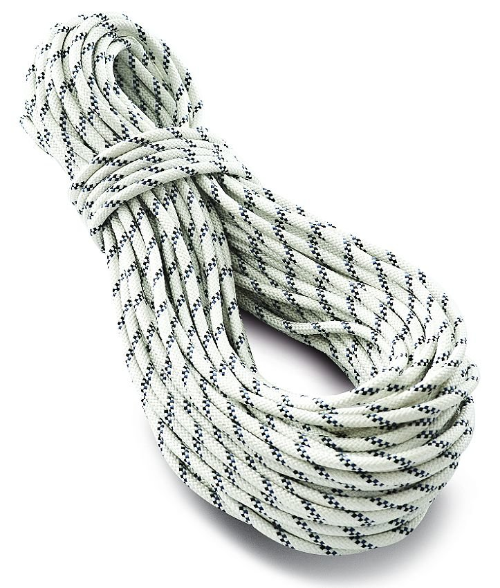 Bílé horolezecké lano Tendon (Lanex) - průměr 9 mm