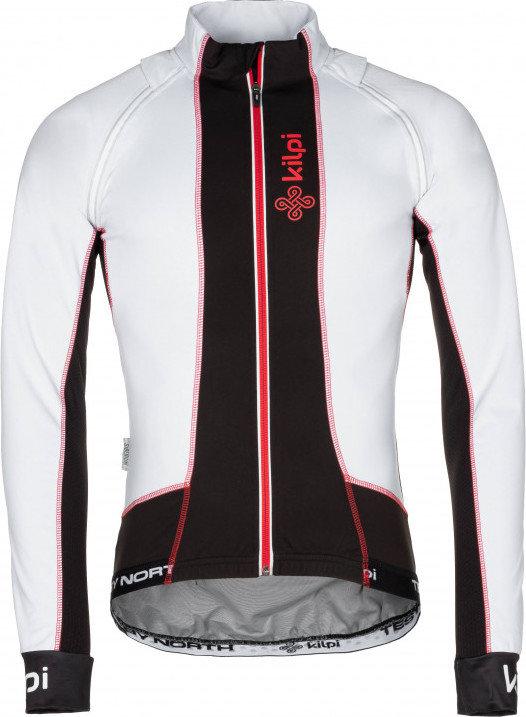 Bílá pánská cyklistická bunda Kilpi