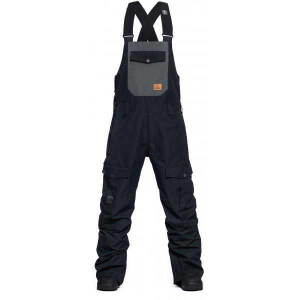 Černé pánské snowboardové kalhoty Horsefeathers - velikost L