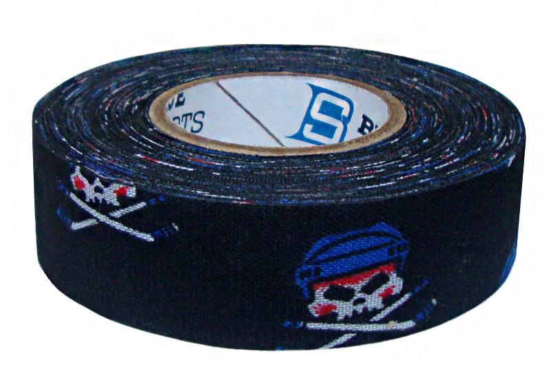 Černá hokejová omotávka Blue sport - délka 18 m