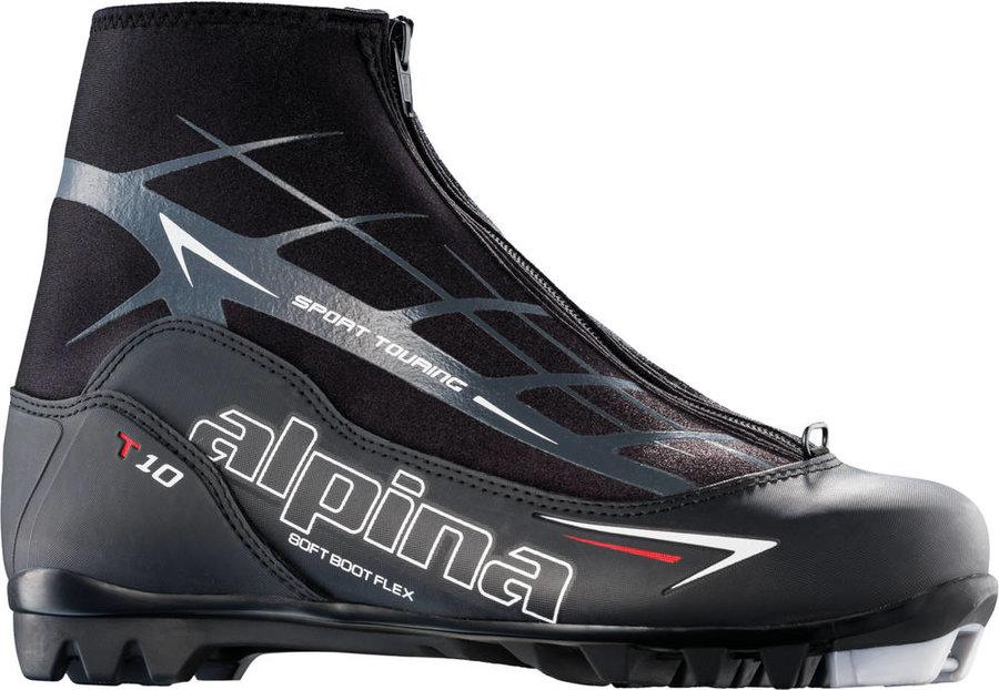 Černé boty na běžky Alpina - velikost 43 EU