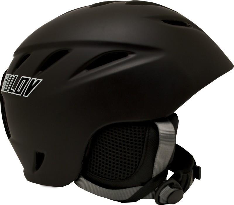Černá lyžařská helma Sulov - velikost 61-62 cm