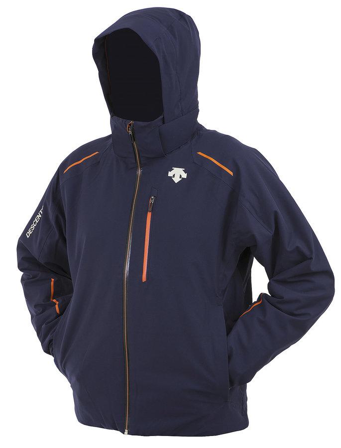 Modrá pánská lyžařská bunda Descente - velikost M