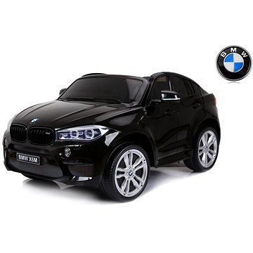 Černé dětské elektrické autíčko BMW X6 M, Beneo