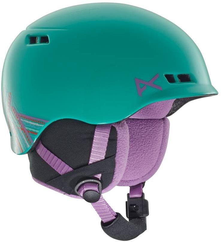 Tyrkysová dětská lyžařská helma Anon