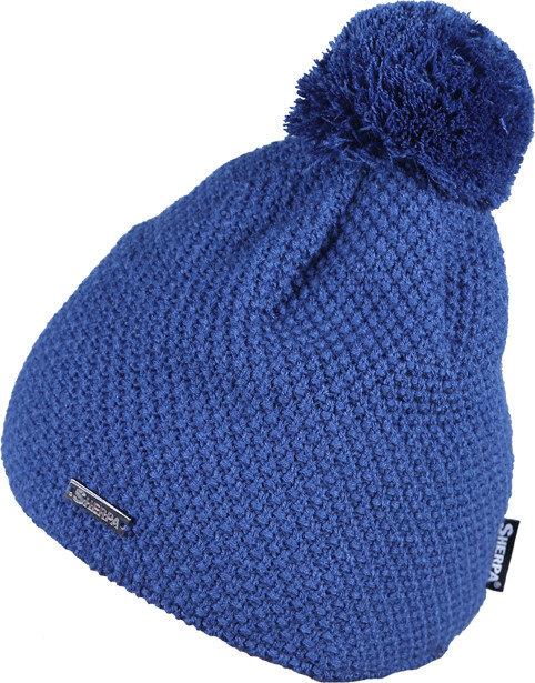 Modrá zimní čepice Sherpa