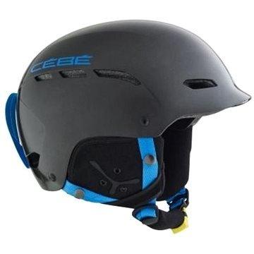 Černo-modrá dětská helma na snowboard CÉBÉ - velikost 58-62 cm