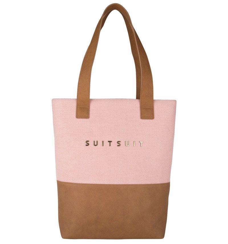 Růžová dámská kabelka SUITSUIT