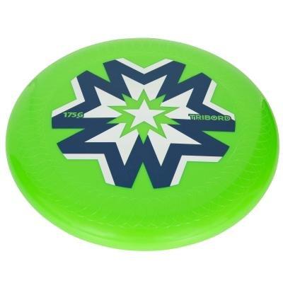 Zelené plastové frisbee Olaian - průměr 20,5 cm
