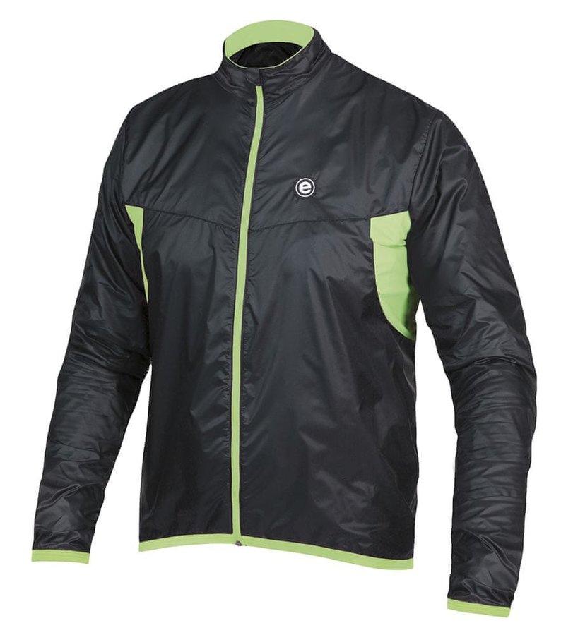 Černá pánská cyklistická bunda Etape