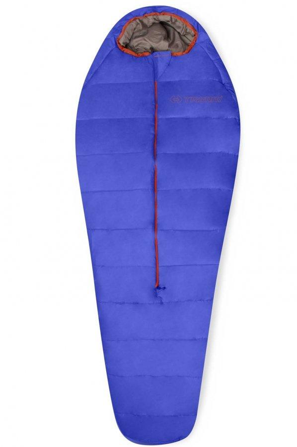 Modrý spací pytel Trimm - délka 185 cm