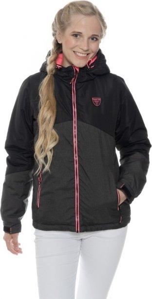 Černá zimní dámská bunda s kapucí Sam 73 - velikost S