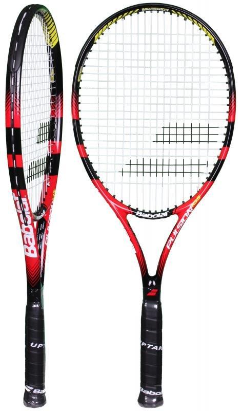 Černo-modrá tenisová raketa Babolat - délka 68,6 cm