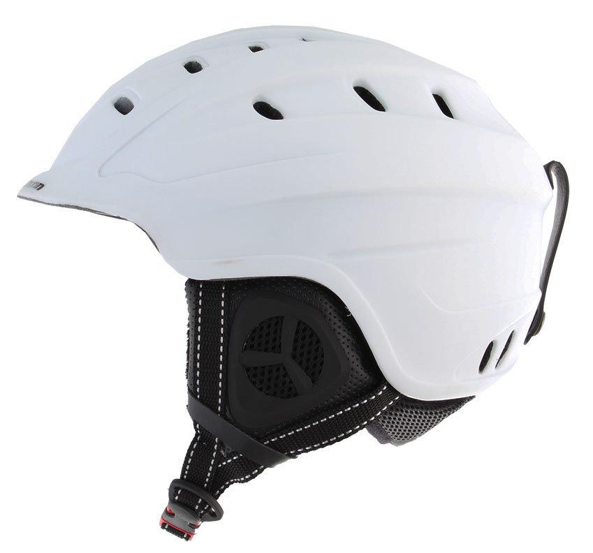 Bílá dámská lyžařská helma Axon