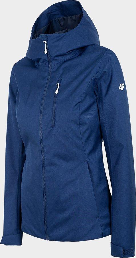 Modrá dámská turistická bunda 4F - velikost XS