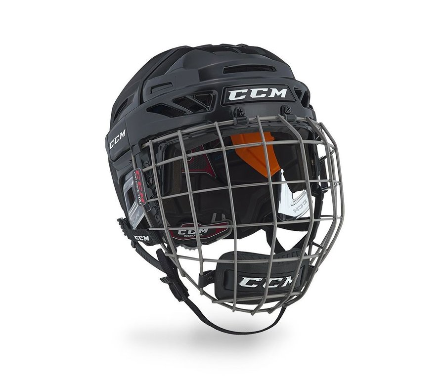 Hokejová helma - Helma CCM Fitlite 90 Combo SR Barva: Černá, Velikost: S, Velikost Výrobce: 51-56cm