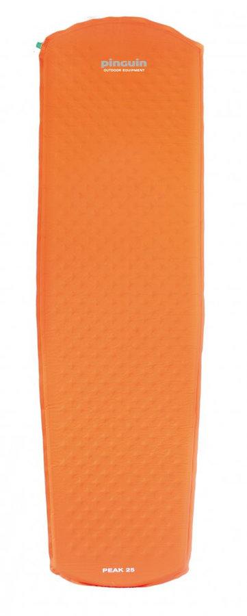 Oranžová samonafukovací karimatka Pinguin - tloušťka 2,5 cm