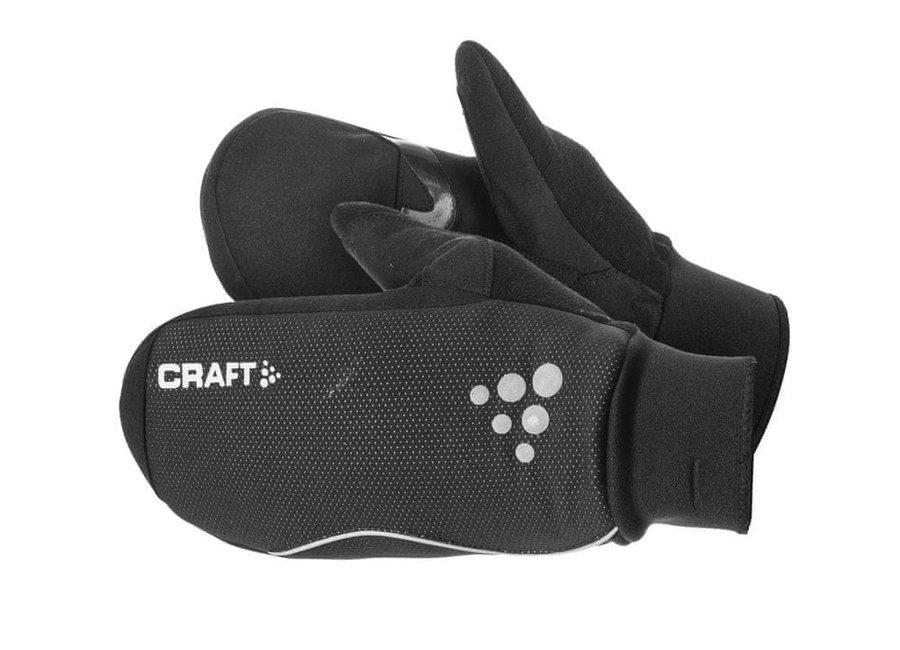 Černé rukavice na běžky Craft - velikost XL