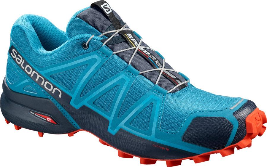 Modré pánské běžecké boty Salomon - velikost 44 2/3 EU