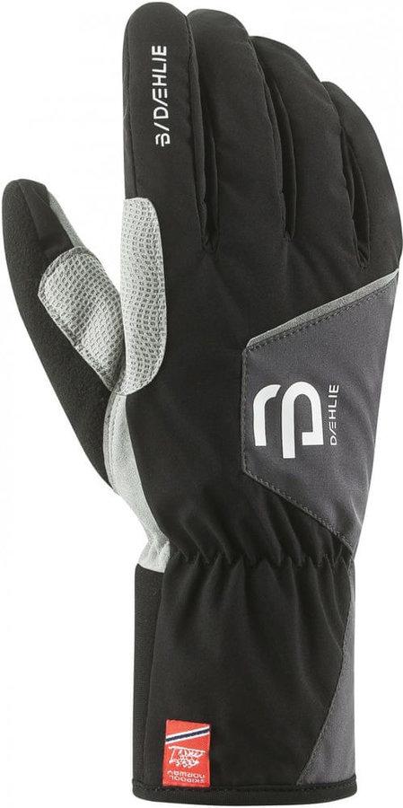 Černé pánské lyžařské rukavice Bjorn Daehlie - velikost S