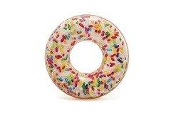 Různobarevný plavecký kruh Donut INTEX - průměr 114 cm