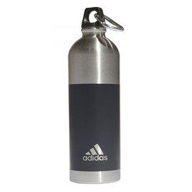 Černá láhev na pití Adidas - objem 0,75 l