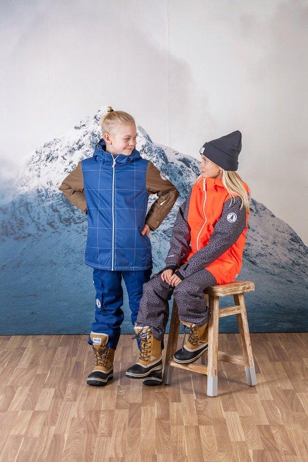 Lyžařské kalhoty - TÄLLBERG -Jr. lyž.lehce zateplené kalhoty(10000 mm)