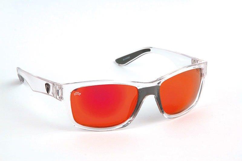 Polarizační brýle - Fox Rage Polarizační brýle Transparent Frame/Red Mirror Lens Eyewear