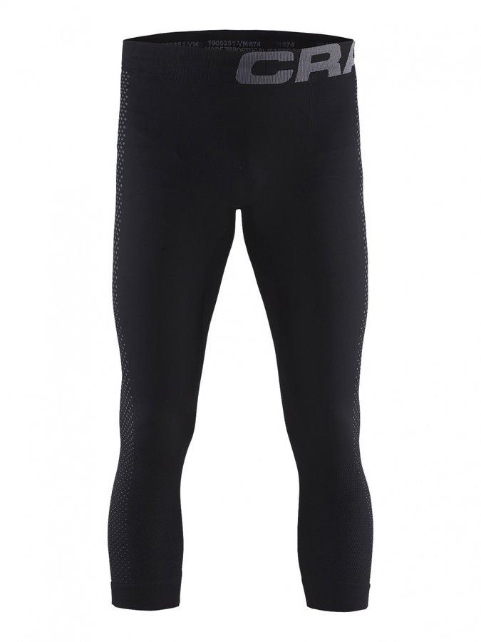 Černé pánské termo kalhoty Craft - velikost M
