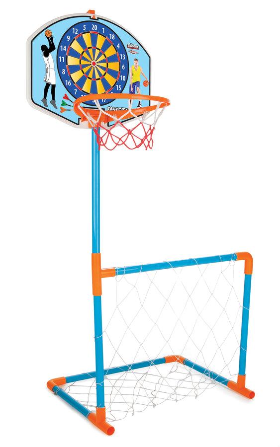 Fotbalová branka, Basketbalový koš - BASKET + fotbalová branka s míčem