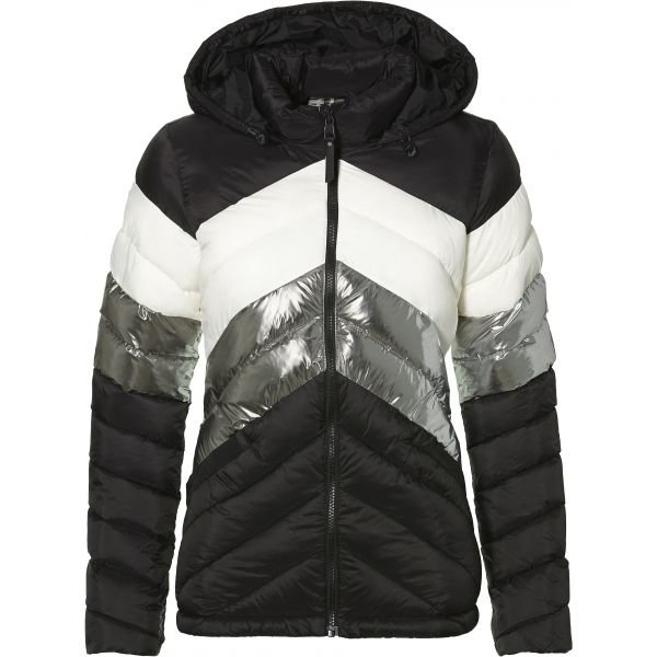 Černo-šedá zimní dámská bunda O'Neill - velikost L