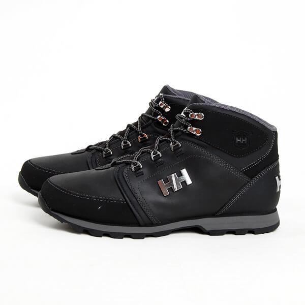 Černé pánské zimní boty Helly Hansen
